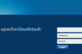 cloudstack 4.3 login page
